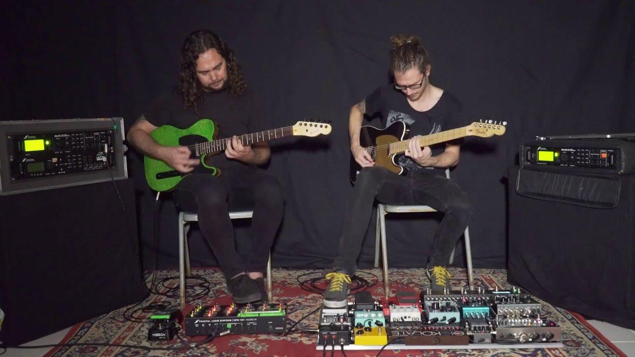 Dead Letter Circus Aesthesis Guitar Playthrough