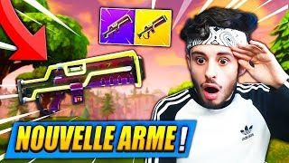 "O novo ARME ""LEGENDARY LASER"" ME CHOQUÉ no FORTNITE: Battle Royale!! Cheat"