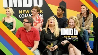 """Chilling Adventures of Sabrina"" Cast Interview at New York Comic Con 