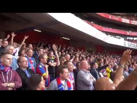 Arsenal 2 - 1 Crystal Palace 2014 | PalaceFanTV