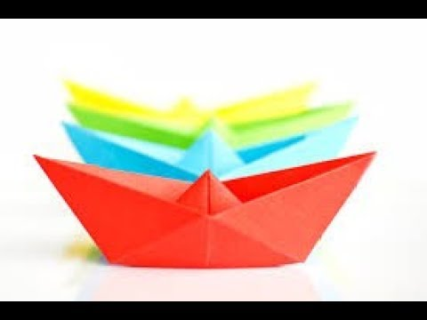 One Minute Game-Paper Boats