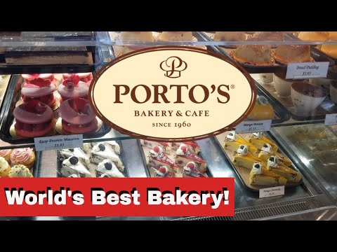 Porto's Bakery & Cafe : World's Best Bakery!
