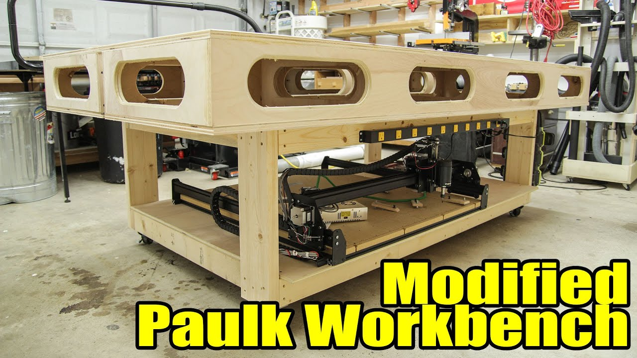 garage workbench plans ideas - Modified Paulk Workbench 203