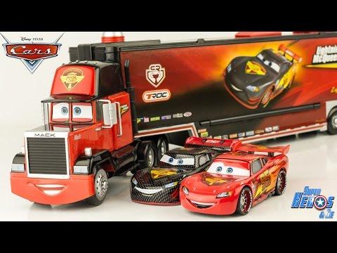 Camion Transporteur et Piste Disney Pixar Cars Drop /& Jump Gray