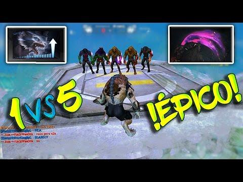 1 VS 5 ¡ÉPICO! - WOLFTEAM LATINO #ElChidoXD