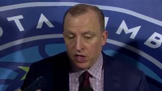 Thibs on Timberwolves' rough 4th quarter, offensive struggles