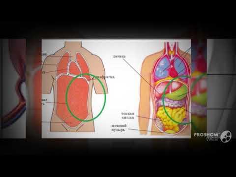 Болит вверху живота под ребрами слева