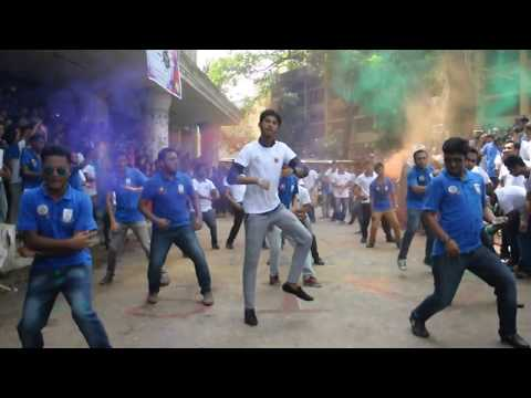 JAGANNATH UNIVERSITY  BBA (A.I.S) 7 TH BATCH FLASH MOB