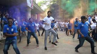 jagannath university bba a i s 7 th batch flash mob