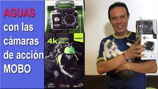 Aguas con las cámaras MOBO 4K