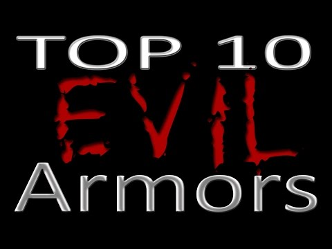 Outcast reviews top 10 evil armor mods for skyrim