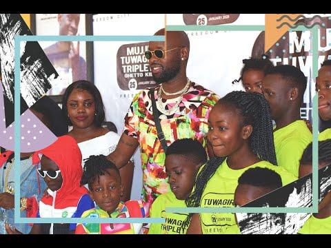 Eddy Kenzo proud as Triplets Ghetto Kids dedicate 2020 concert to fallen brother Alex Ssempijja