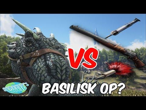 ARK: Survival Evolved - Basilisk Vs Tranq Darts - Whats Best???