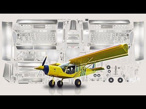 Zenith STOL CH 750 with drooped leading-edge wing slats