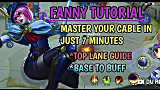 Gambar cover FANNY TOP LANE GUIDE   LEARN FANNY   MOBILE LEGEND   BETU MECH OFFICIAL