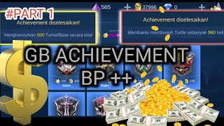 Tutorial GB ACHIEVEMENT Batle Point mobile legends Terbaru patch Lou yi versi 1.4.76 #part 1