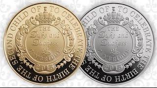 Монеты для принцессы Кембриджской(Рождению дочери в семье герцога и герцогини Кембриджских 2 мая 2015 радовалось полмира! Продолжая тысячелетн..., 2015-05-03T21:46:48.000Z)