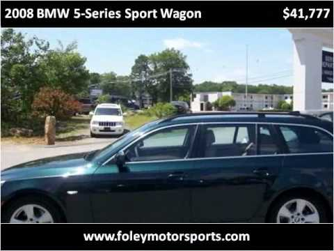 2008 bmw 5 series sport wagon used cars shrewsbury ma youtube. Black Bedroom Furniture Sets. Home Design Ideas