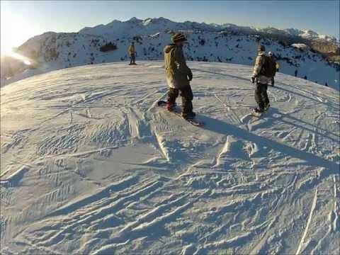 Vogel (Slovenia) Snowboarding 2012 - Part 5 (super mario)