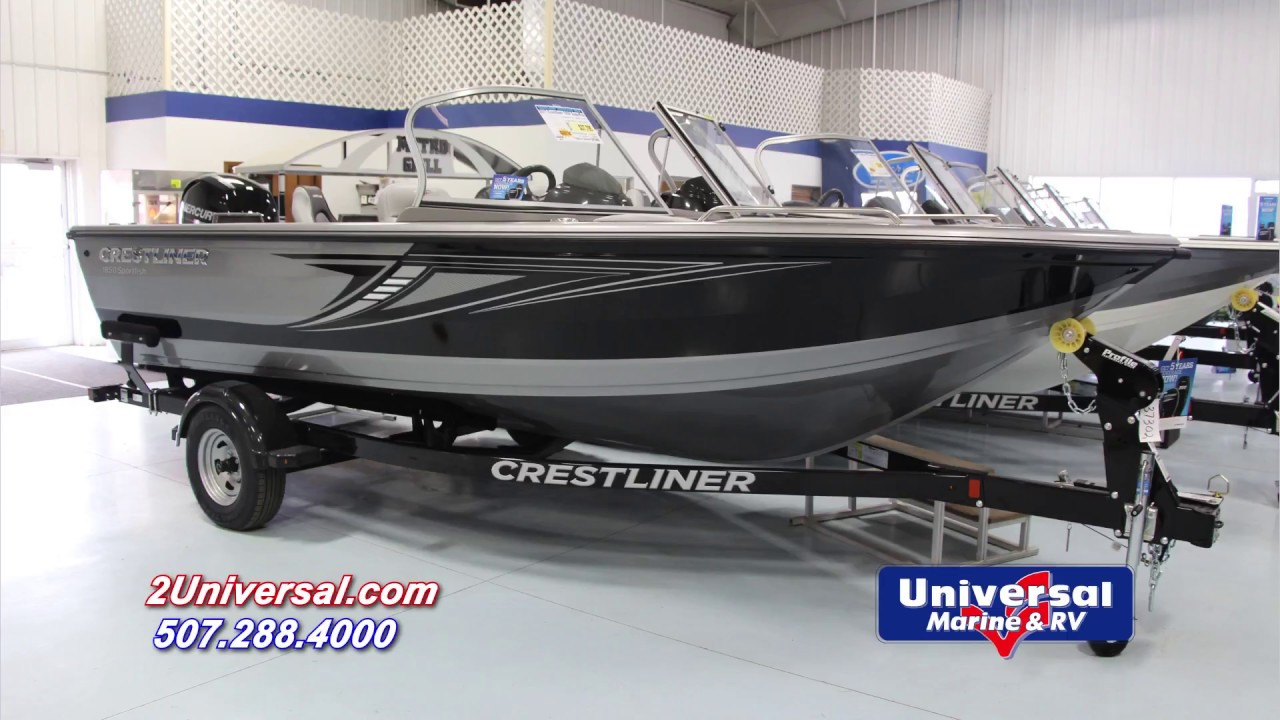 2017 Crestliner 1850 Sportfish For Sale Rochester Mn Youtube