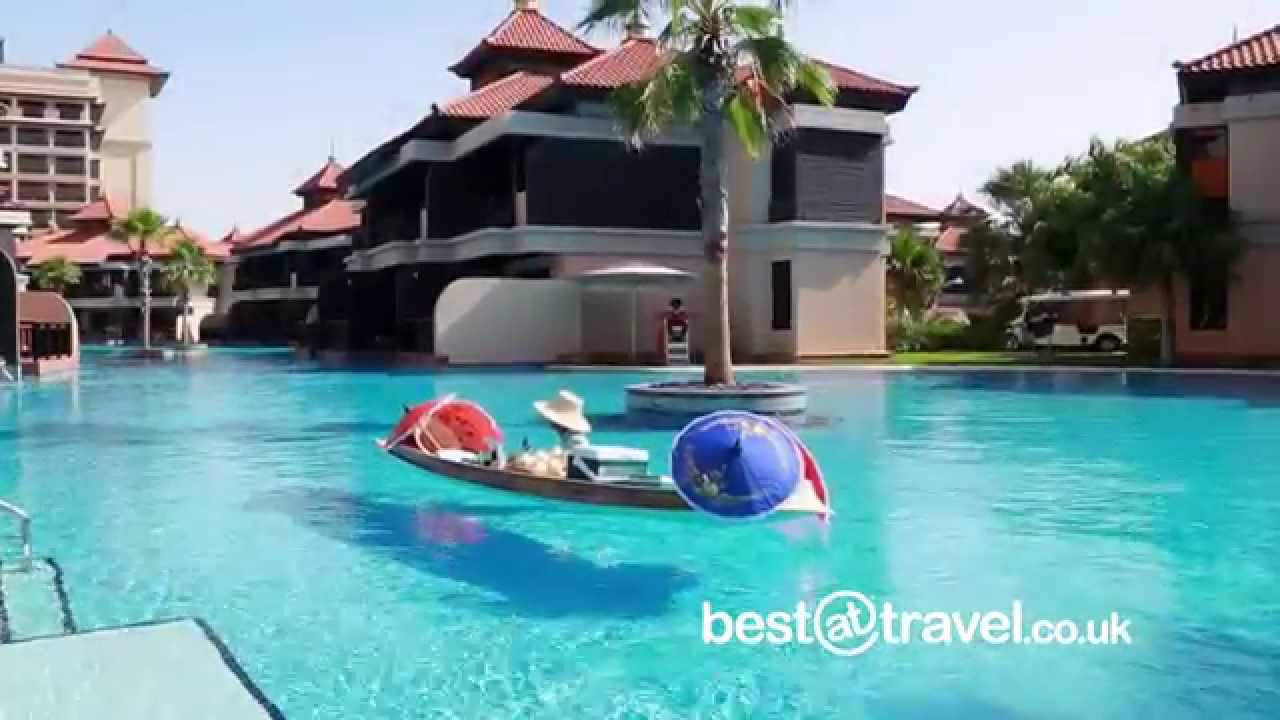 Anantara dubai the palm resort and spa youtube for Best spa hotel dubai