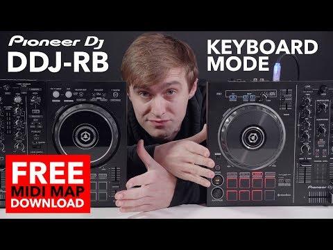 Keyboard Mode on Pioneer DDJ RB (Free Midi Map D/L)