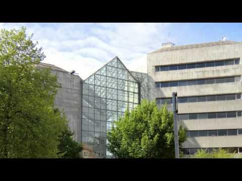 Irish Government Buildings, Dublin, Ireland