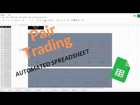 trading spreadsheet
