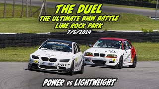 """The Duel"" - The Ultimate BMW Battle at Lime Rock Park"