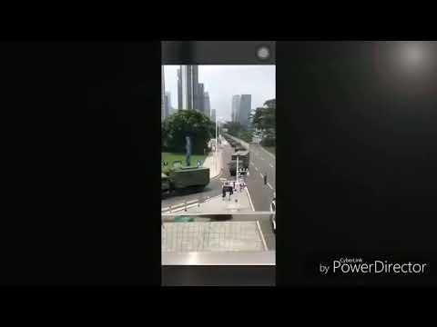 Китай ввёл войска в Гонконг 11.08.2019