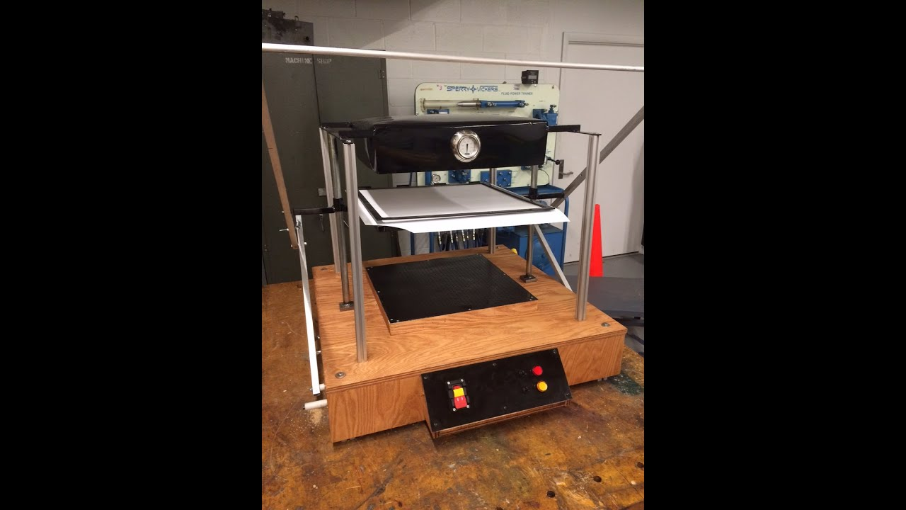 Building A Vacuum Forming Machine