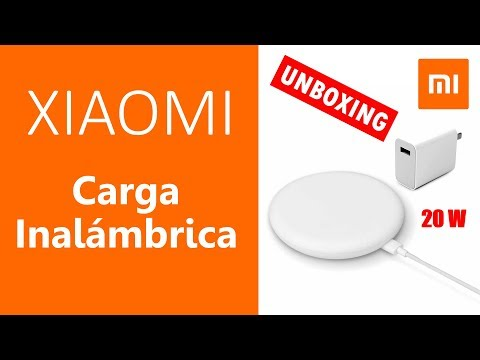 Xiaomi Cargador Inalambrico Qi 20 W - Unboxing