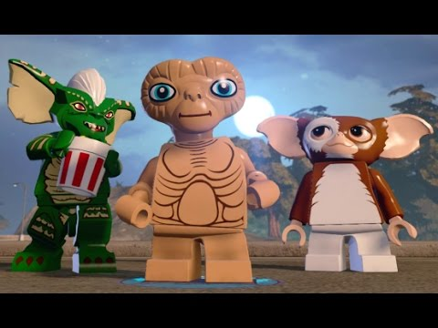 LEGO Dimensions - E.T. The Extra-Terrestrial Adventure World Free Roam