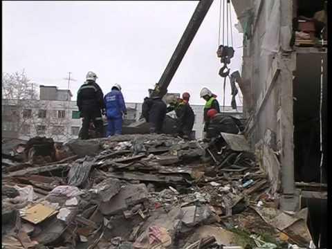 Действия при обрушении здания