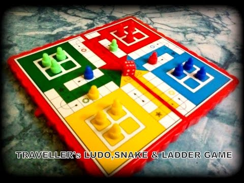 Traveller's Ludo Snake & Ladder Game | Unboxing Classic Board Game | Review