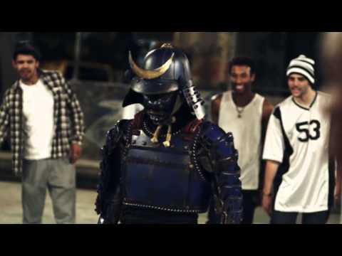 Samurai in Brazil - Nissin Cup Noodle CM (Japanese TV commercial)