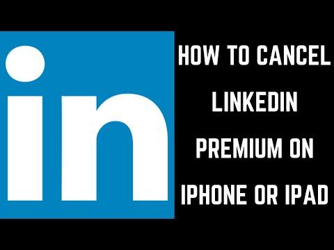 How to Cancel LinkedIn Premium on iPhone or iPad