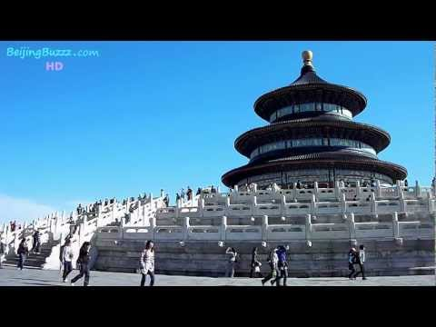 Temple of Heaven, Beijing, China (HD)