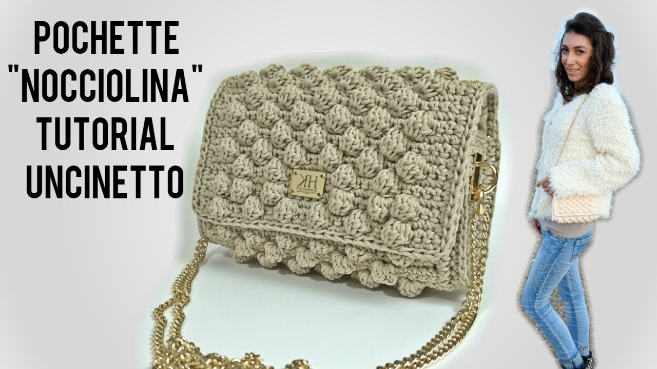 Tutorial Pochette Nocciolina Uncinetto Crochet Katy Handmade