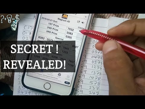 Malaysia lottery - Secret revealed! how to win LOTTERY - 4D MKT [malay] - 동영상