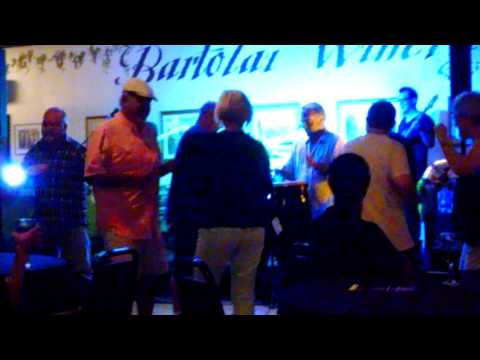 Clarence Spady at Bartolai Winery  8/12 /16