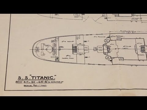 Titanic at the National Archives