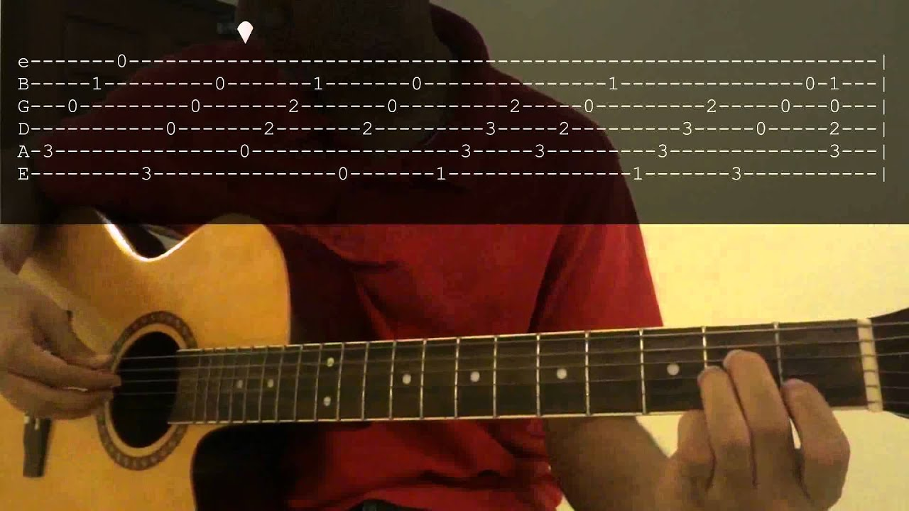 Canon In D Opening Riff Beginner Guitar Lesson With Tab Youtube