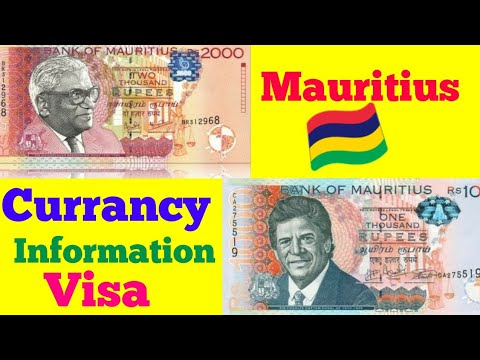 Mauritius Visa Currency 💱