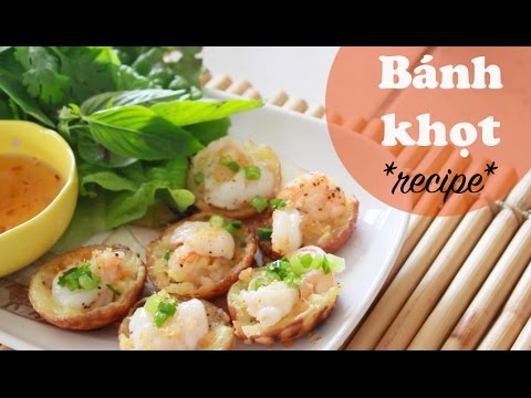 bánh-khọt-(savory-mini-pancakes)-recipe- -vietnamese-cooking-ep.-1