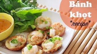 Bánh Khọt (savory Mini Pancakes) Recipe   Vietnamese Cooking Ep. 1