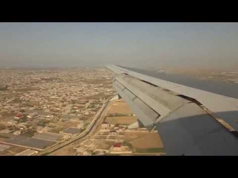 Azerbaijan Airlines B757-200 4K-AZ12 Landing at Baku from Dubai DXB