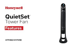 Honeywell QuietSet Tower Fan HYF260/HYF290 - Product Features