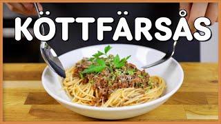 Ni frågade om det: Spaghetti med Köttfärssås!
