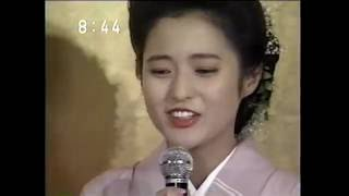 三田寛子 中村橋之助 1991.